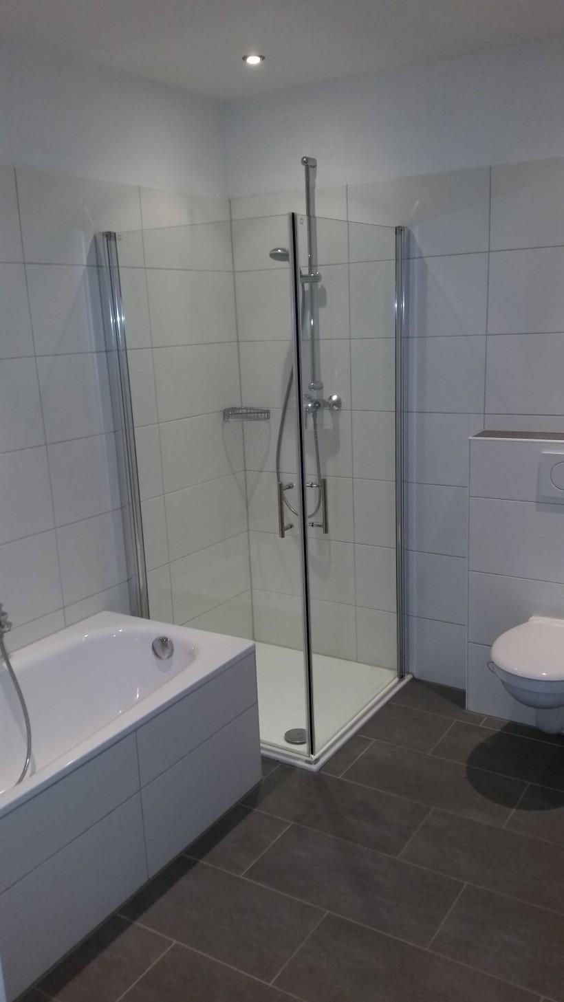 Badezimmer renoviert